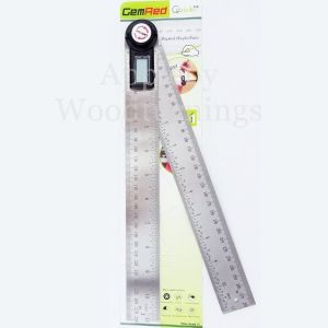 Gemred Digital 360 Angle Rule Setting Out Protractor 280mm