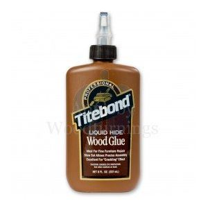 Titebond 'Heat Reversible' Liquid Hide Glue for Interior Use 237ml supplied by Appleby Woodturnings