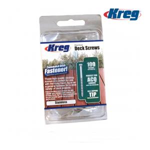 "Kreg 2"" Stainless Steel #8 Coarse Deck Fixing Screws 100pcs SDK-C2SS-100"
