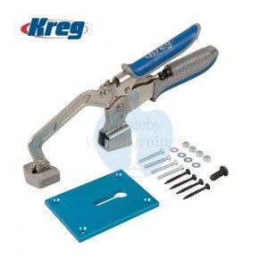"""Kreg 3"""" (76mm) Automaxx Bench Clamp With Clamp Plate KBC3-SYS"""
