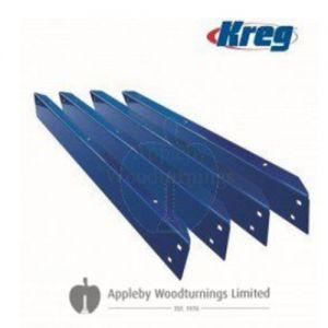 "Kreg Universal Pre-Drilled Bench Rails 44"" (Set of 4) KBS1020"