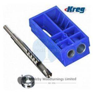 Kreg Pocket Hole Plug Cutting Jig System with Drill Bit KPCS