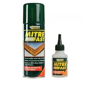Everbuild Mitre Fast Bonding Kit - Standard supplied by Appleby Woodturnings