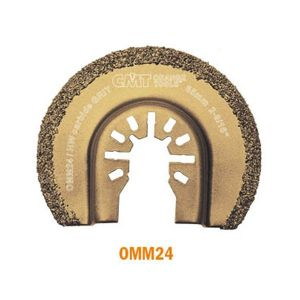 65mm Carbide Grit Radial Saw Blade with Universal Arbor