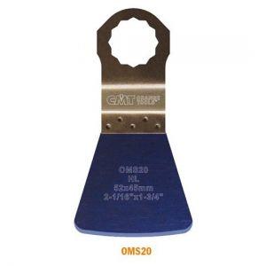 52mm Flexible Scraper for all Materials with Arbor for Fein SuperCut and Festool Vecturo