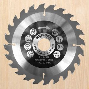 REISSER 250mm diameter 40 Tooth Positive Hook Combination-cut Circular Saw Blade