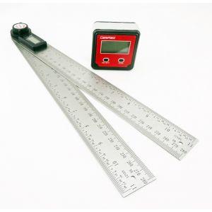 Plastic Bevel Box & 200mm Digital Depth Gauge GEMRED BUNDLE