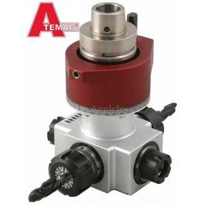 CNC Atemag Quattro Functionline Aggregate Head