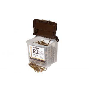 6.0mm x 50mm Reisser R2 Woodscrews Tub 450pcs