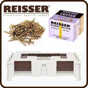 REISSER Crate Mate SSC1 Promo Offer - Cutter Screw Pack Bundle