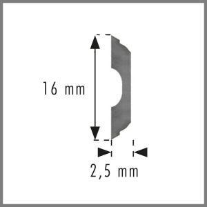 130mm HSS Oertli Sinus Planer Blades 1 pair