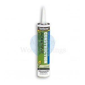 Premium Greenchoice Interior/Exterior Polyurethane Construction Adhesive 311ml Titebond  supplied by Appleby Woodturnings