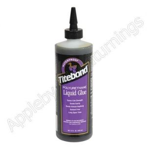 Polyurethane Waterproof Liquid Glue for Metal, Ceramics & Plastic 355ml Titebond supplied by Appleby Woodturnings