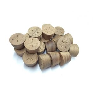 28mm American Black Walnut Tapered Wooden Plugs 100pcs