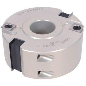 Whitehill 100 x 50 x 30 mm Bore Z2 Straight Aluminium Rebate Head 060A00010