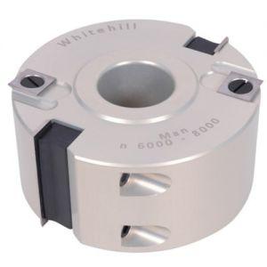 """Whitehill 100 x 50 x 1¼"""" Bore Z2 Rebate Head Aluminium 060A00020."""