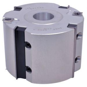 Whitehill 125 x 100 x 30mm Bore Aluminium Rebate Head 060A00130