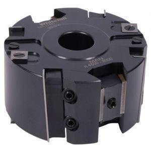 "Whitehill 125 x 60 x 1-1/4"" Bore Adjustable Rebate Serrated Drip/Groove Z4 Shear 060S00180"