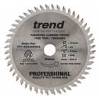 160mm Z=48 Id=20 TREND Industrial Hand Held / Portable Saw Blade To Fit Festool CSP56