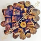 3/8 Inch Wenge Tapered Wooden Plugs 100pcs