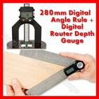 GEMRED 280mm Digital Rule + Digital Depth Gauge DOUBLE PACK