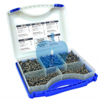 KREG Pocket Hole SCREW Kit 675pcs Boxed Set SK03