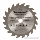 85mm Silverline TCT Mini Circular Saw Blade For Titan/Worx Saws 876132