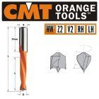 12 x 77mm Lip & Spur Dowel Drill Bit L/H