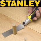 Stanley Fatmax Flush Cut Saw the perfect tool for trimming off Tapered Wood Pellets