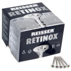 Reisser R2 Retinox Stainless Steel Wood Screws 4.0mm x 25mm 200pcs