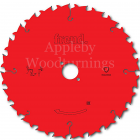 240mm Z=24 ATB Id=30 Freud Hand Held / Portable Saw Blade To Suit Festool AP85