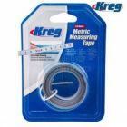 Kreg 3.5 Meter Self Adhesive Measuring Tape Metric Left to Right Reading KMS7729