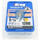 1,200 SCREWS 1 1/4 Inch KREG 32mm Fine Thread Washer Heads SML-F125