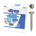 500 SCREWS 1 Inch KREG 25mm Fine Thread Pan Heads SPS-F1