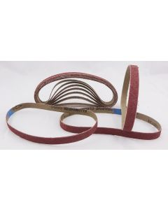 60 Pack 120 Grit Sanding Belts 13 x 457mm