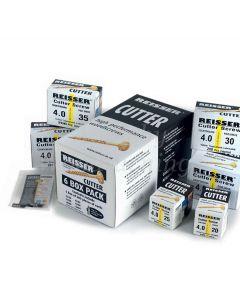 Reisser CUTTER 6 Box Trial Pack 1,200pc Wood Screws + 2 Pozi Bits