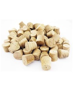 1/2 Inch American White Oak Tapered Wooden Plugs 100pcs