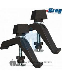 Kreg Twin Pack Track Clamps For Accu-Cut Circular Saw Guide System KMS7520