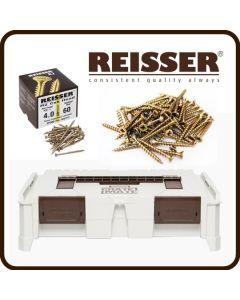 REISSER Crate Mate SSC1 Promo Offer - R2 Screw Pack Bundle