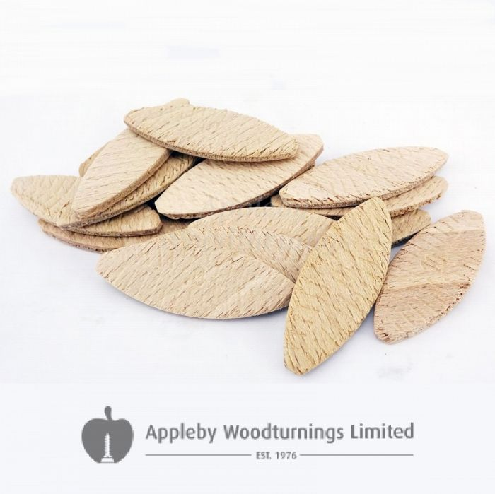 100pcs Hardwood Jointing Biscuits Size 10