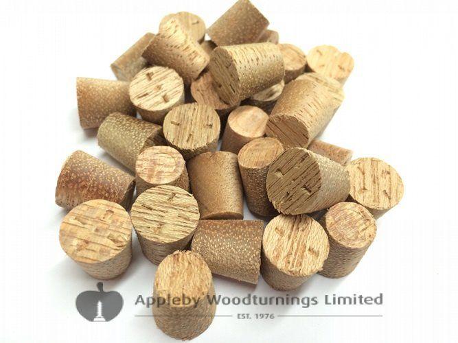 14mm Meranti Tapered Wooden Plugs 100pcs