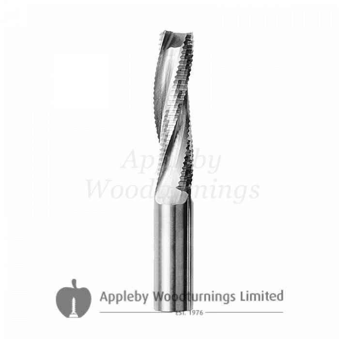 12mm dia x 32mm cut CNC S=12mm Roughing Spiral Router Z=3 Positive R/H FREUD