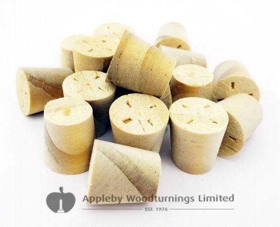 10mm Accoya Tapered Wooden Plugs 100pcs