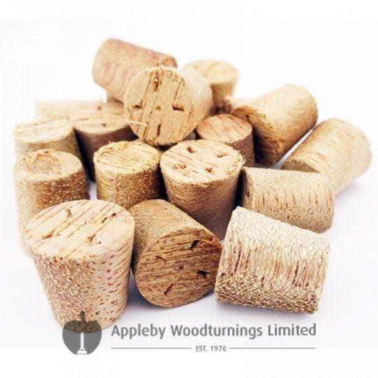 10mm Meranti Tapered Wooden Plugs 100pcs