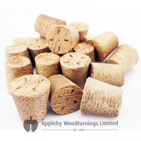 "1/2"" Meranti Tapered Wooden Plugs 100pcs"