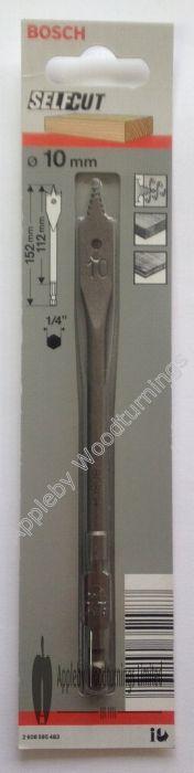 10mm dia Bosch Self Cut Drill Bit
