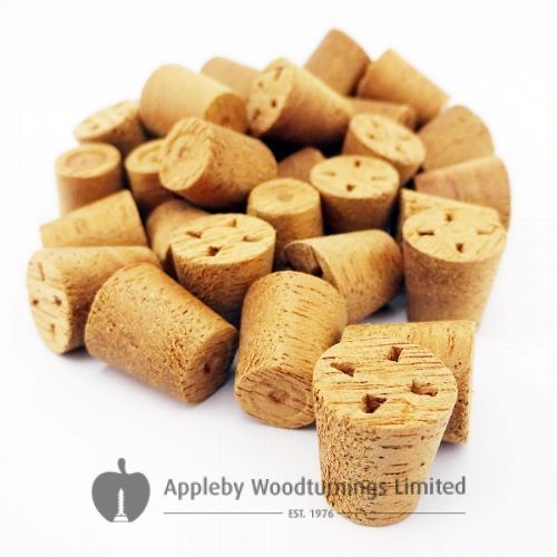 12mm Utile Tapered Wooden Plugs 100pcs