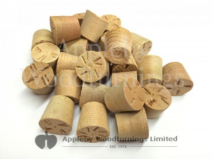 12mm Cedar Tapered Wooden Plugs 100pcs