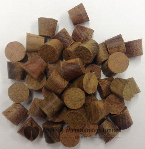 17mm IPE Tapered Wooden Plugs 100pcs