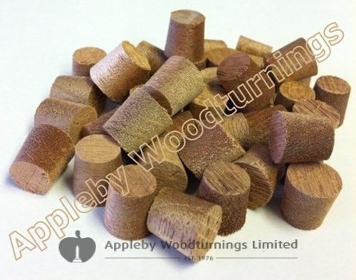 "3/8"" Lauan Tapered Wooden Plugs 100pcs"
